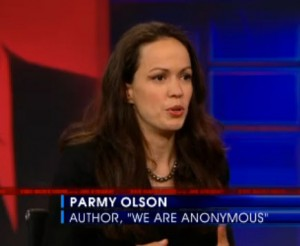 Parmy Olson on The Daily Show